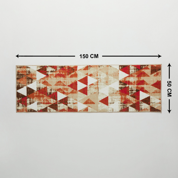 Brilon Clair Geometric Kitchen Tufted Runner - 50 x 150 cm