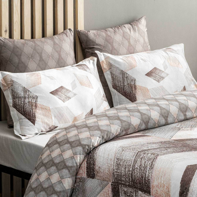 DDECOR Esteem Printed 3-Piece Bedding Set - 274 x 274 cm