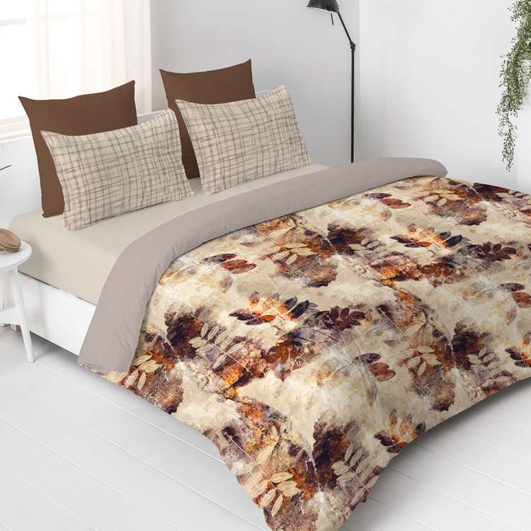 D'DECOR The Prime Printed Cotton 3-Piece Bedding Set - 229 x 274 cm