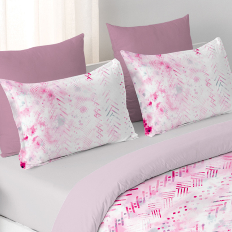 DDECOR The Prime Printed 3-Piece Bedding Set - 229 x 274 cm