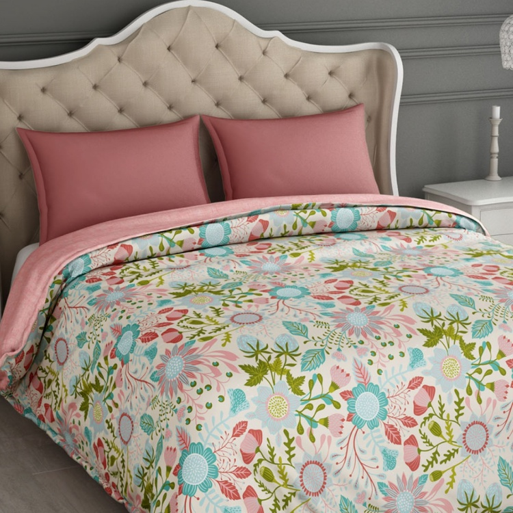 SPACES Essentials Printed Cotton Double Bed Comforter - 218 x 270 cm