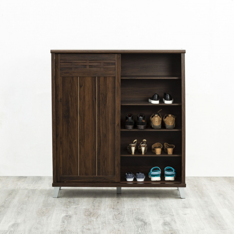 Lewis Two Doors Slide Open Wardrobe With Shoe Cabinets