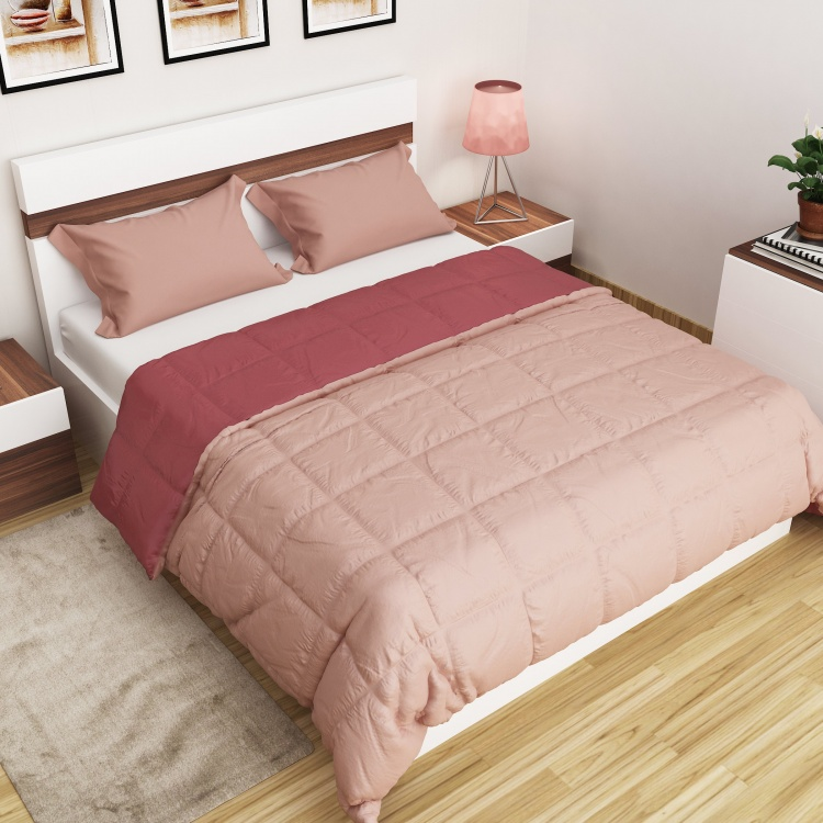 SPACES Forever Reversible Double-Bed Quilt Blanket - 220 x 240 cm