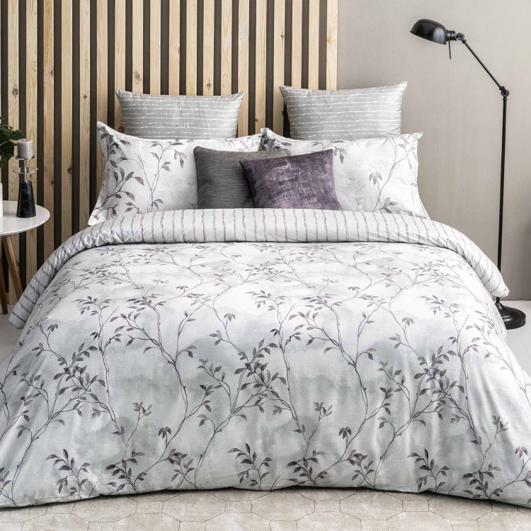 D'DECOR Fusion Printed Cotton 3-Piece Bedding Set - 274 x 274 cm