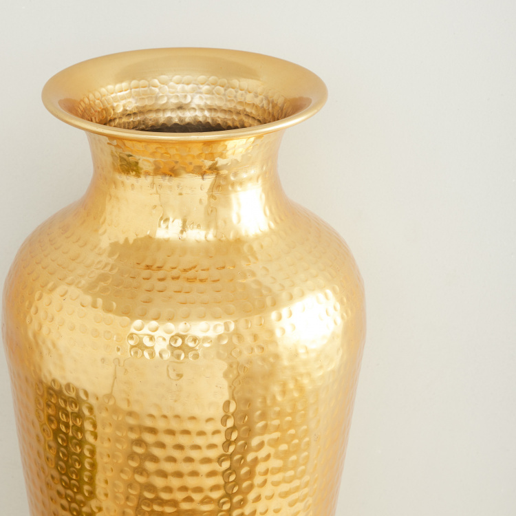 Colossal Textured Round Vase