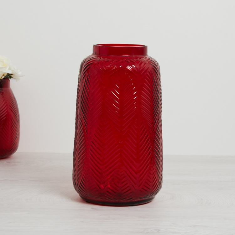 Bentley Textured Round Vase