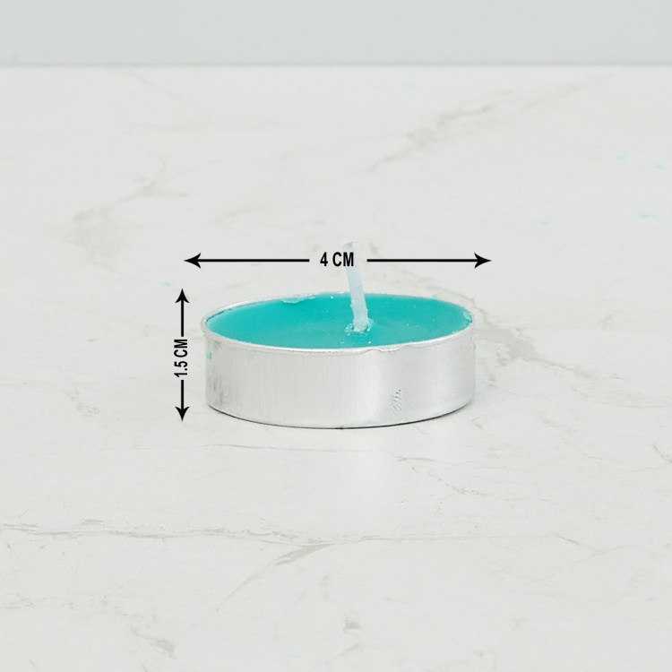 Luminescent T-light Candles - Set of 50