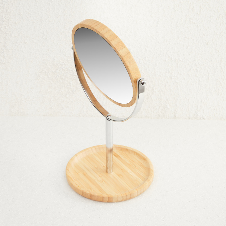 Hudson - Chelsea Round Mirror with Stand