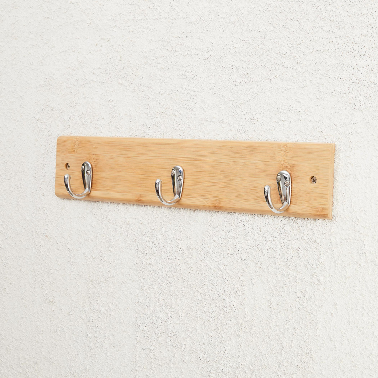 Hudson-Chelsea Rectangular Wall Mounted Hooks