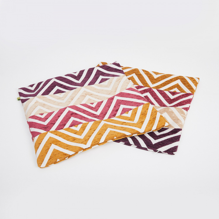 Celebration Colourblock Cushion Cover - Set of 2 - 40 x 40 cm