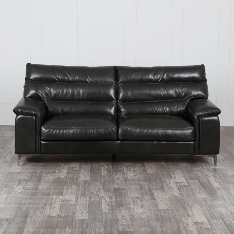 Mayflower Three-Seater Full Leather Sofa