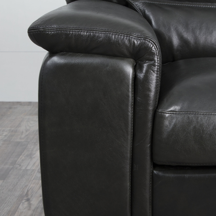 Mayflower Two-Seater Full Leather Sofa