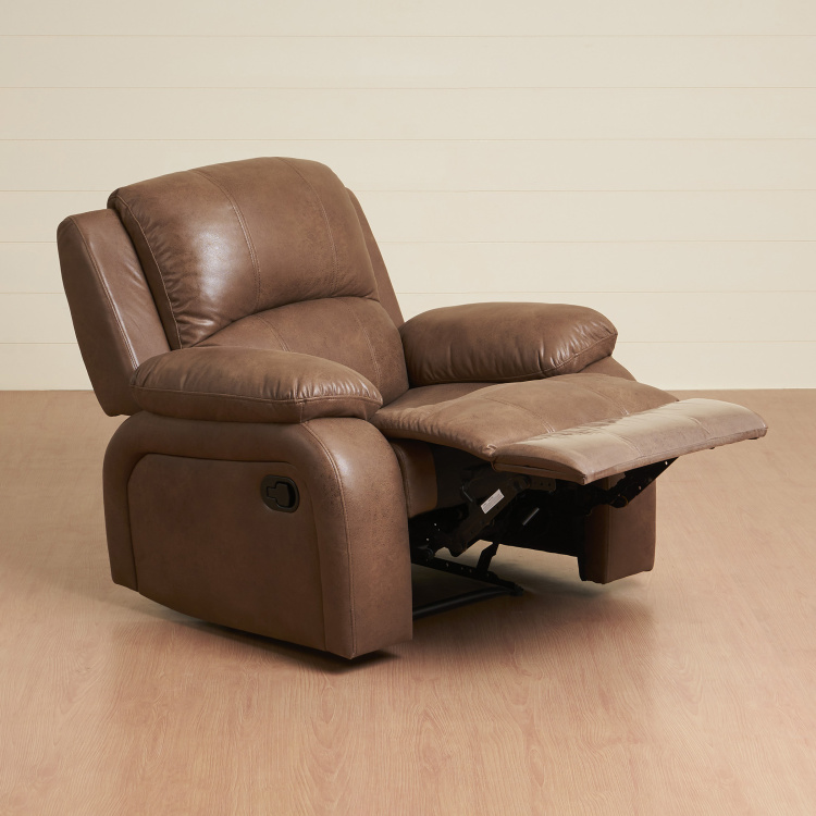 New Montoya One Seater Textured Reclining Arm Chair