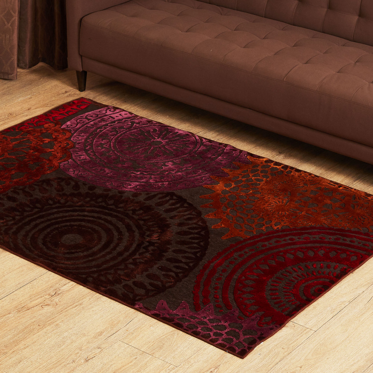 Burnish Eclipse Ethnic Carpet - 120 x 180 cm