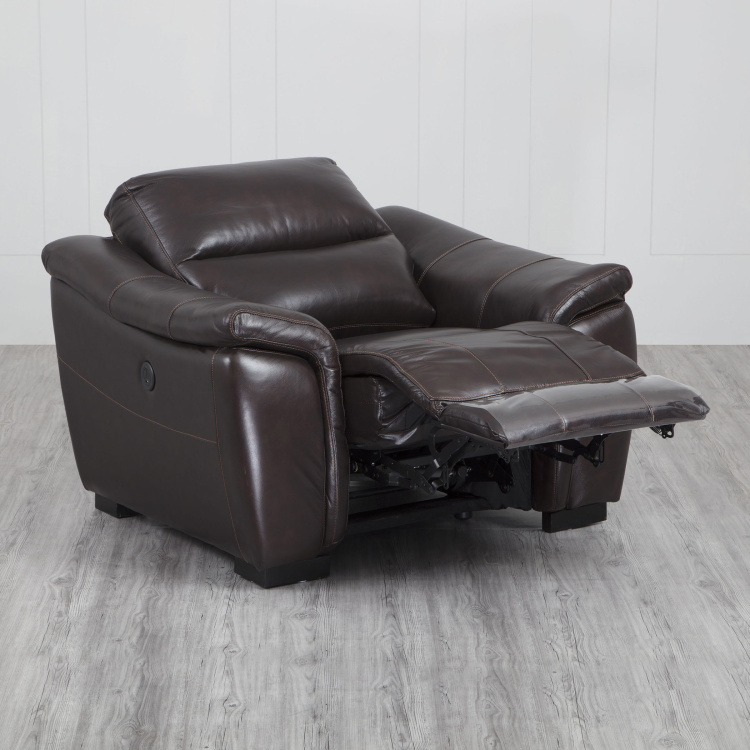 Beta One-Seater Leather Recliner