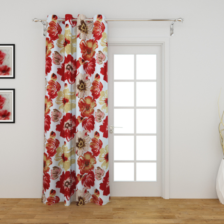 Cagliari Printed Semi-Blackout Door Curtain
