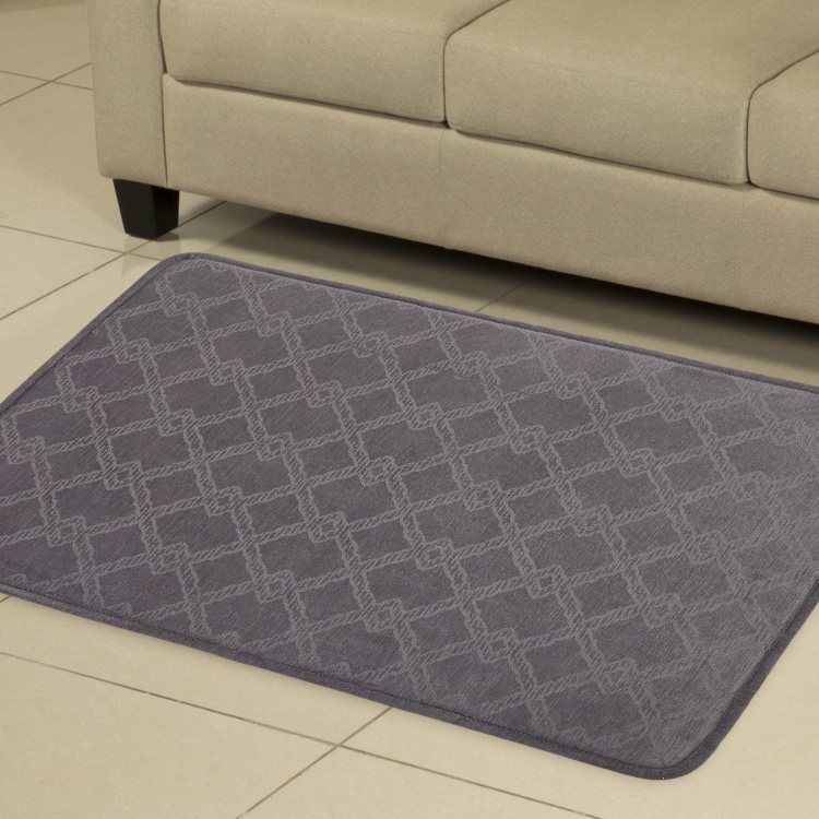 Cloud Coddle Textured Chenille Mat - 90 x 150 cm