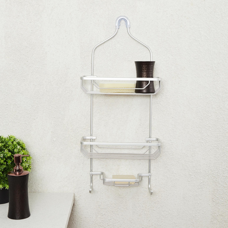 Steele Two-Tier Shower Caddy