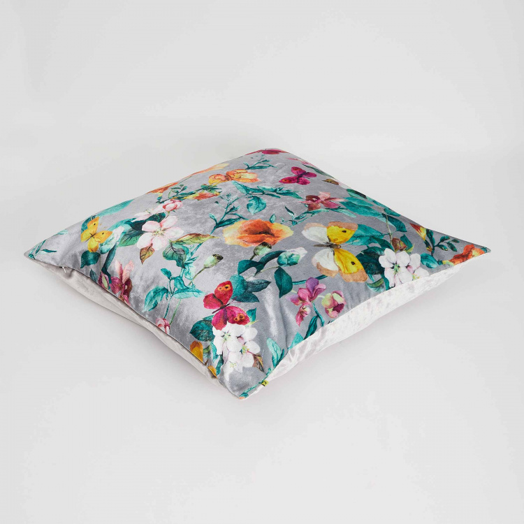 Aurora Floral Print Cushion Cover - 65 x 65 cm