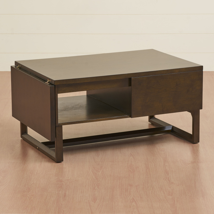 Butterfly Rectangular Coffee Table with Storage