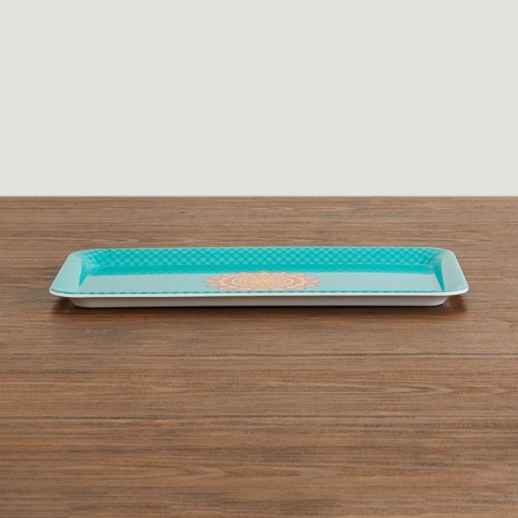 Raisa-Retro Printed Melamine Tray