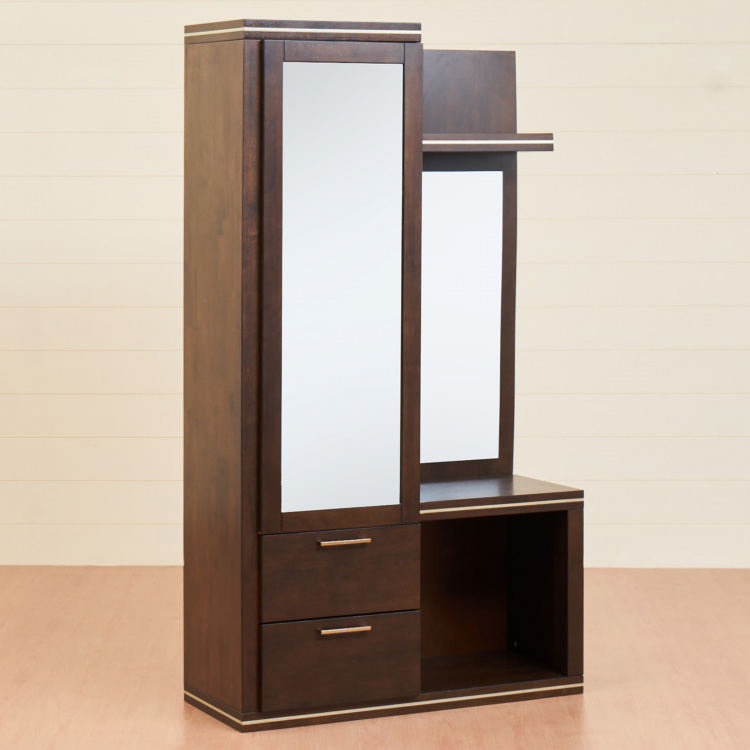 Valencia Solid Dressing Table With Mirror
