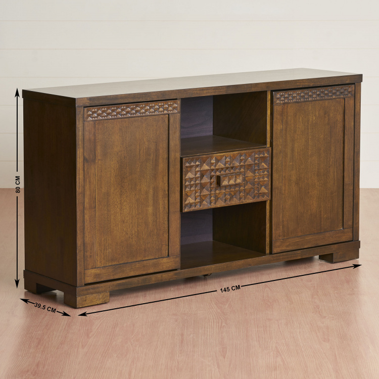 Rio Two-Door Buffet Table