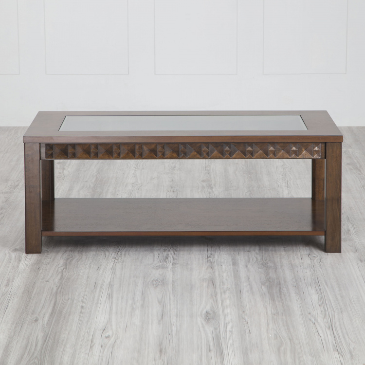 Rio Coffee Table with Tempered Glass