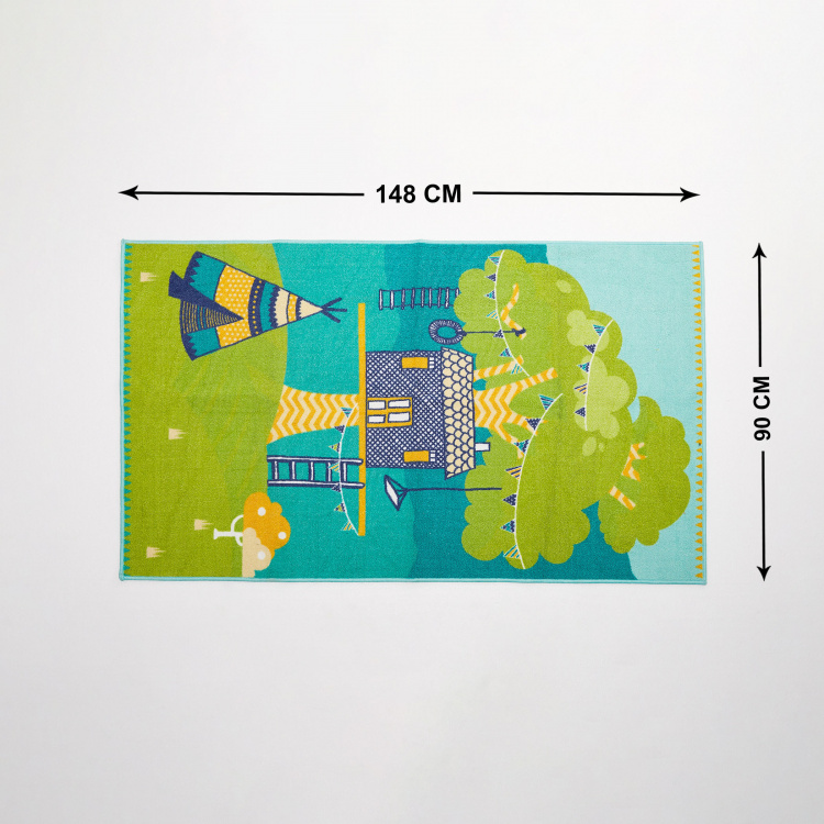 City Goes Wild Printed Polyester Playmat