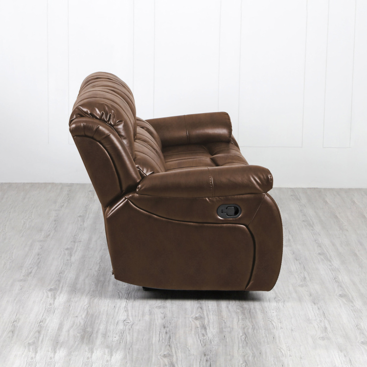 Electra Three Seater Textured Recliner