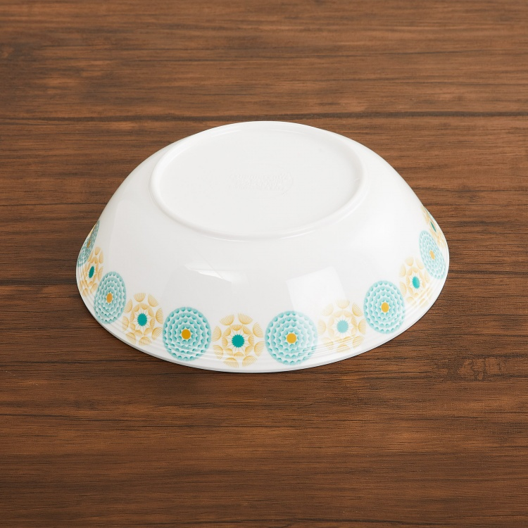 Mandarin Printed Melamine Serving Bowl