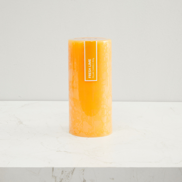 Colour Connect Solid Fruity Pillar Candle