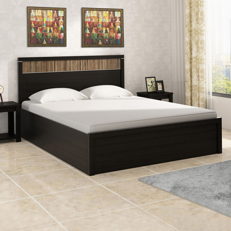 Helios Malta Queen-Size Bed with Box Storage - 150 x 195 cm