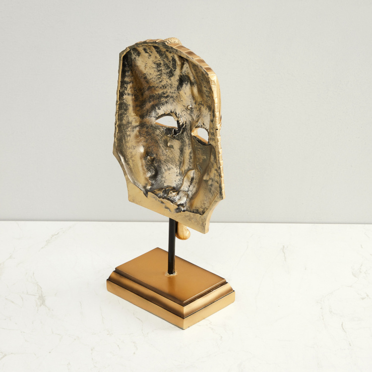 Jaguar Abstract African King Table Mask