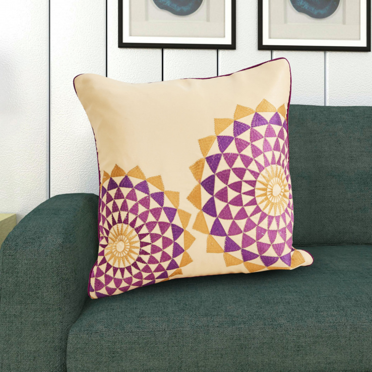 Celebration Embroidered Cushion Covers - Set of 2 - 30 x 50 cm