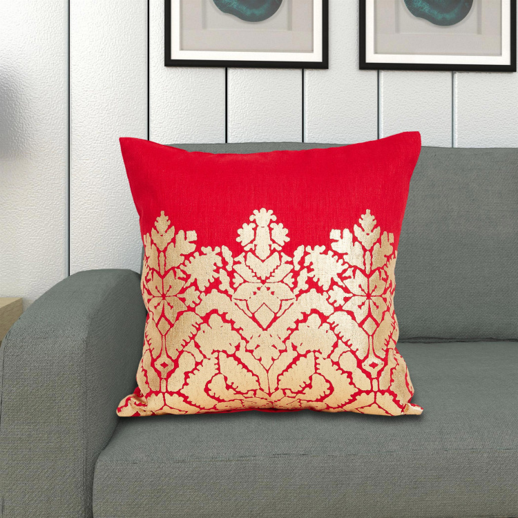 Celebration Printed Cushion Covers - Set of 2 - 40 x 40 cm