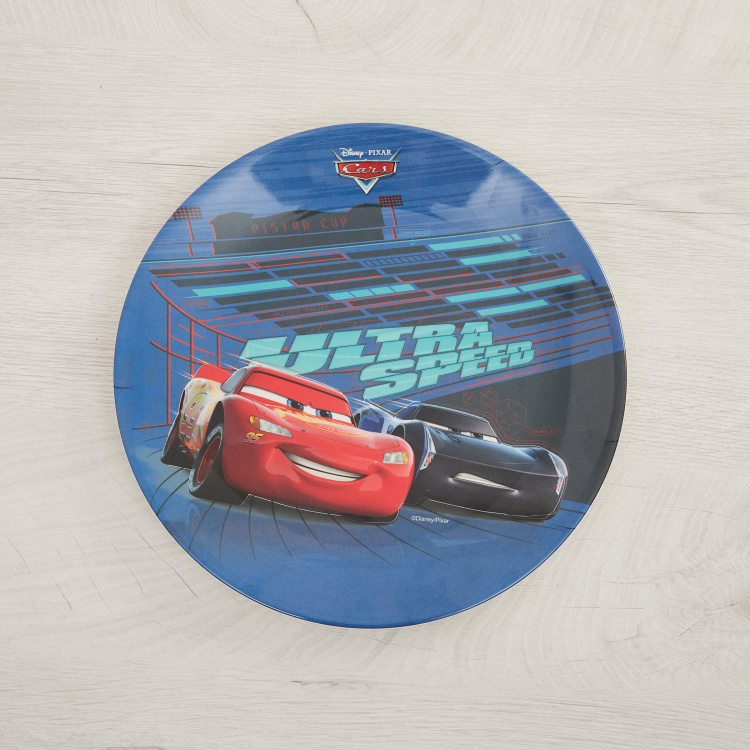 Disney Cars Print Urmi Dinner Plate