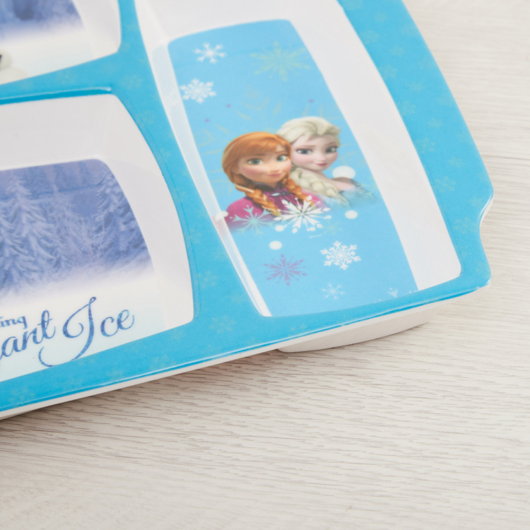 Disney Frozen Print Partition Plate