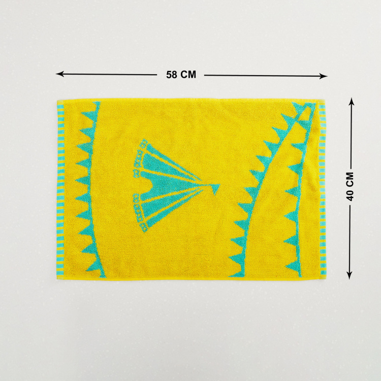 City Goes Wild Textured Rectangular Hand Towel