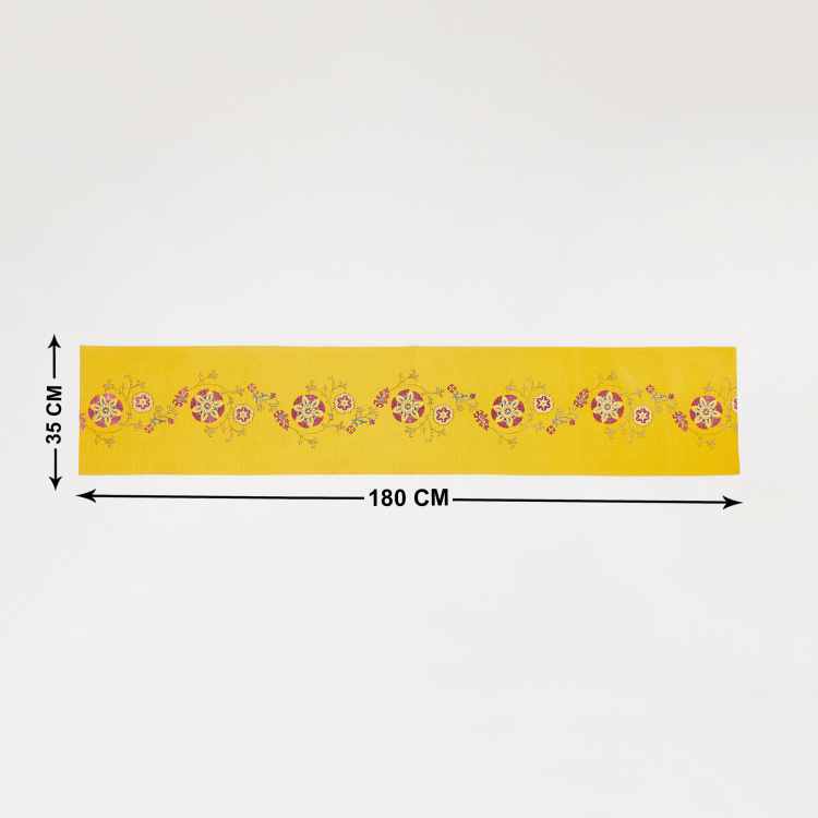 Bico Printed Table Runner - 35 x 180 cm
