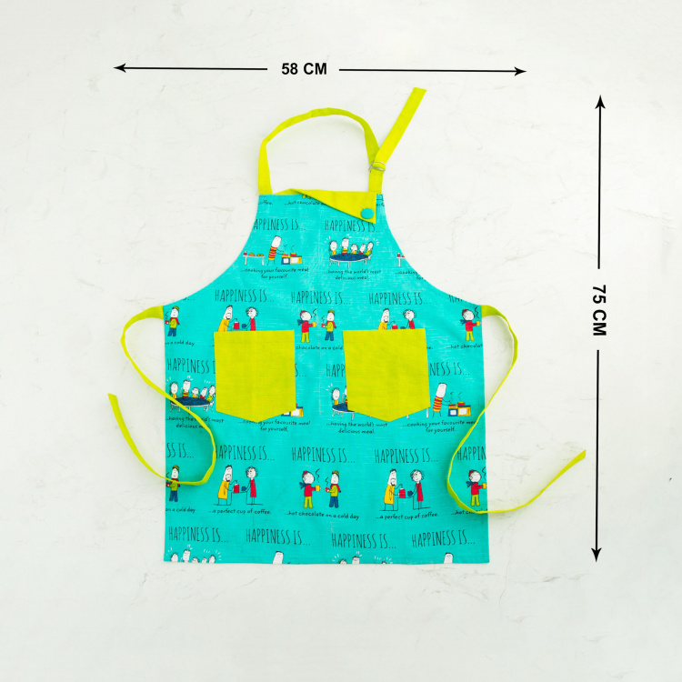 Happiness Printed Apron
