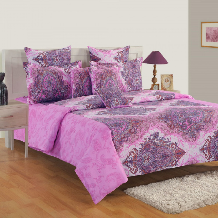 SWAYAM Printed Cotton Double Bed Comforter - 228 x 254 cm