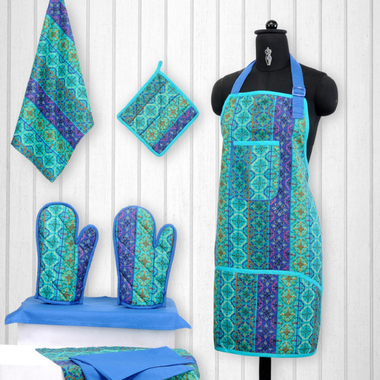 SWAYAM Printed 8-Piece Kitchen Set