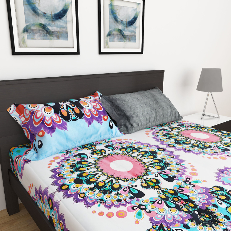 Designer Home Manish Arora 3-Pc. King Size Bedsheet Set - 180 x 195 cm