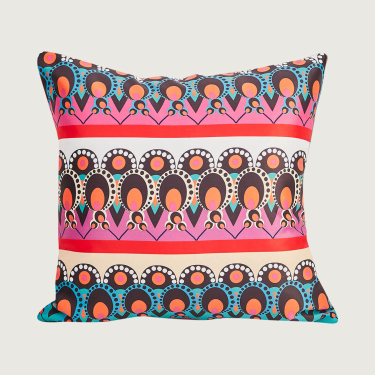 Designer Homes Printed Cushion Covers - Set of 2 - 40 x 40 cm