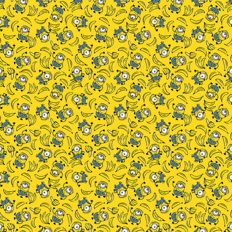 SPACES Minions Print Single Bed Comforter - 152 x 220 cm
