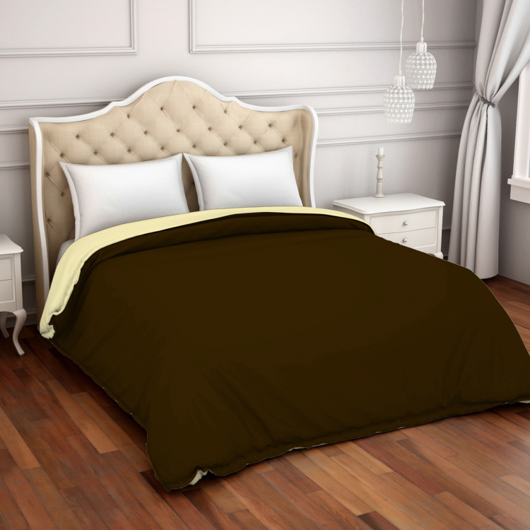 SPACES Hygro Solid Cotton Double Comforter - 218 x 269 cm