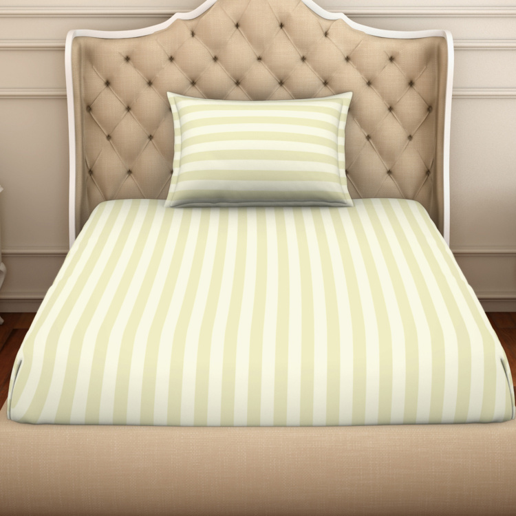 SPACES Skyrise 2-Pc. Striped Single Bedsheet Set - 152 x 228 cm