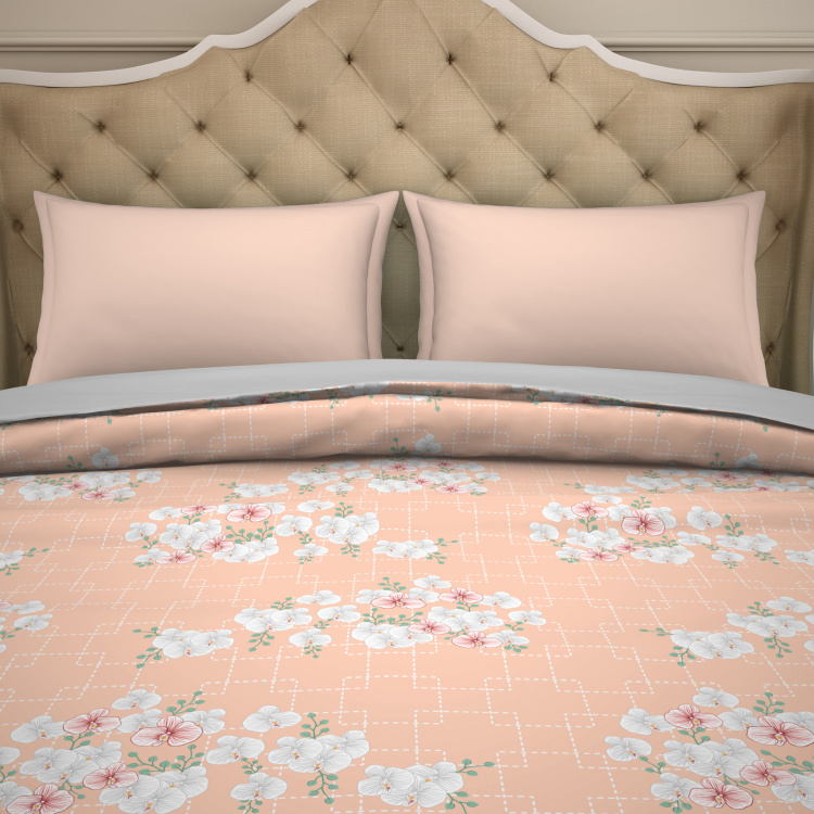 SPACES Printed Double Bed Dohar - 210 x 239 cm