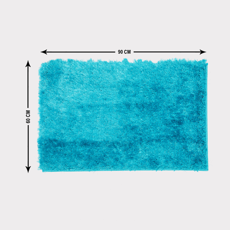 Eyelash Serena Shaggy Area Carpet- 60 x 90 cm